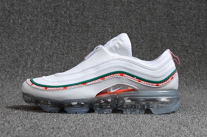 c864918edbc8c2 2018 Real Nike Air VaporMax 2018 97 White Green Red
