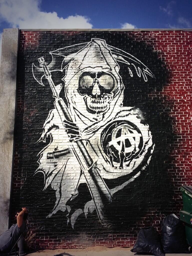 Dominic Pagone On Twitter Sons Of Anarchy Samcro Sons Of Anarchy Reaper Graffiti