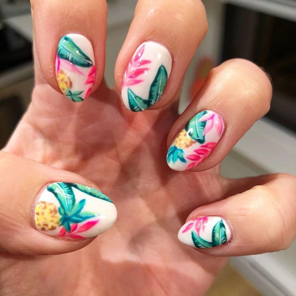 52 Fantastic Summer Beach Nail Designs Ideas You Must Try Asap Nail Designs Summer Beach Nail Designs Nail Art Summer