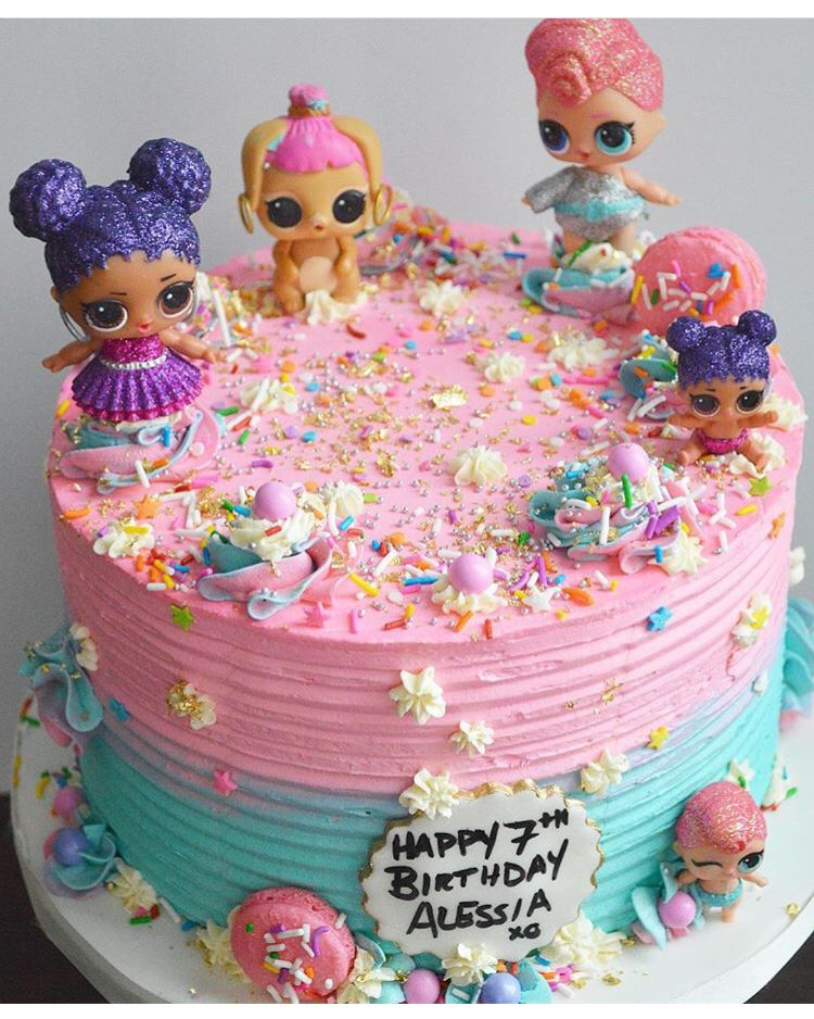 Glitter Ball Birthday Cake