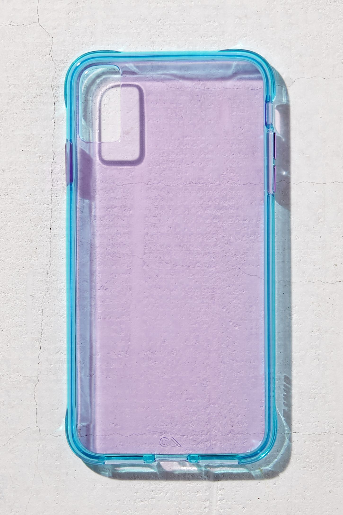 new concept 764c8 5cb01 Case-Mate Tough Purple + Blue Neon iPhone Case in 2019 ...