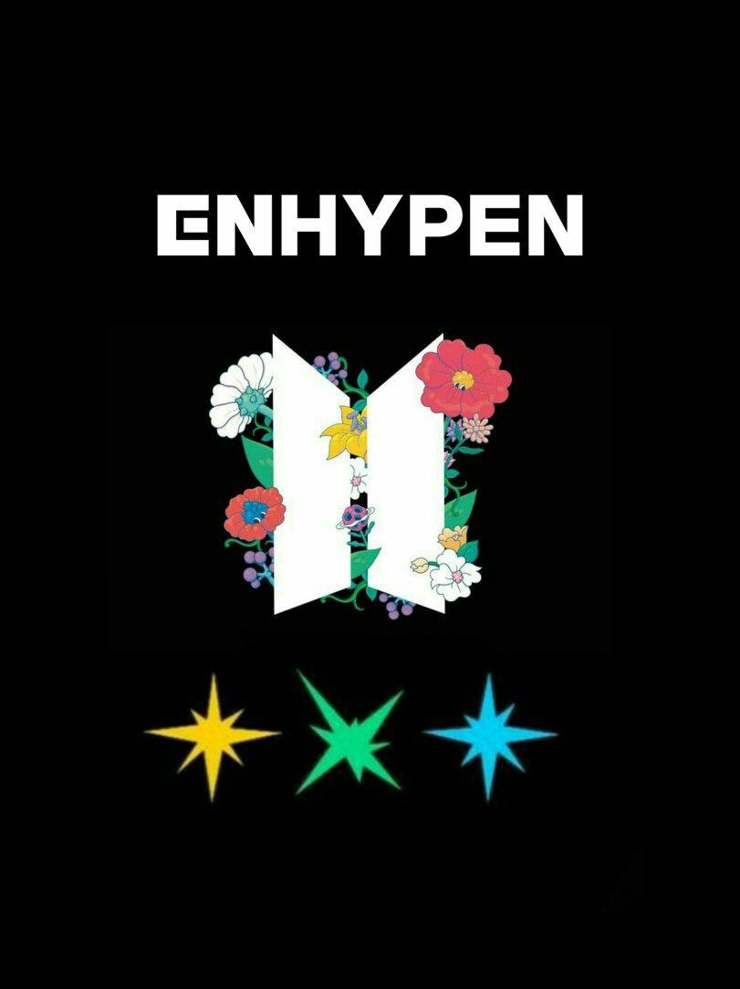 Bighit Families Buku Lagu Buku Gambar Enhypen logo desktop wallpaper