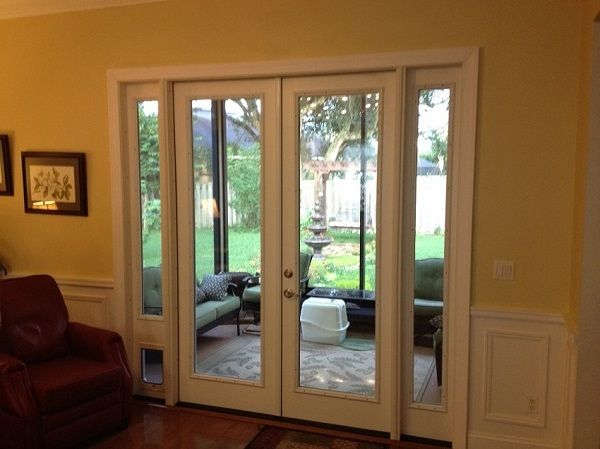 Pet Door To Patio Porch Ideas For The House Pinterest Pet Flaps French Patio And Dog Rooms