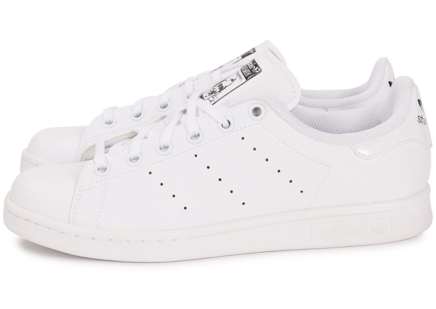 top quality incredible prices cost charm adidas Stan Smith Junior Blanche - Chaussures Femme ...