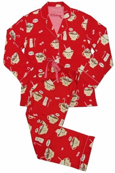 2072df4ba424 PJ Salvage Hot Chocolate Flannel Pajama Set….Wear these Adorable Flannel  Pajamas During the Long Cold Winter Months!!