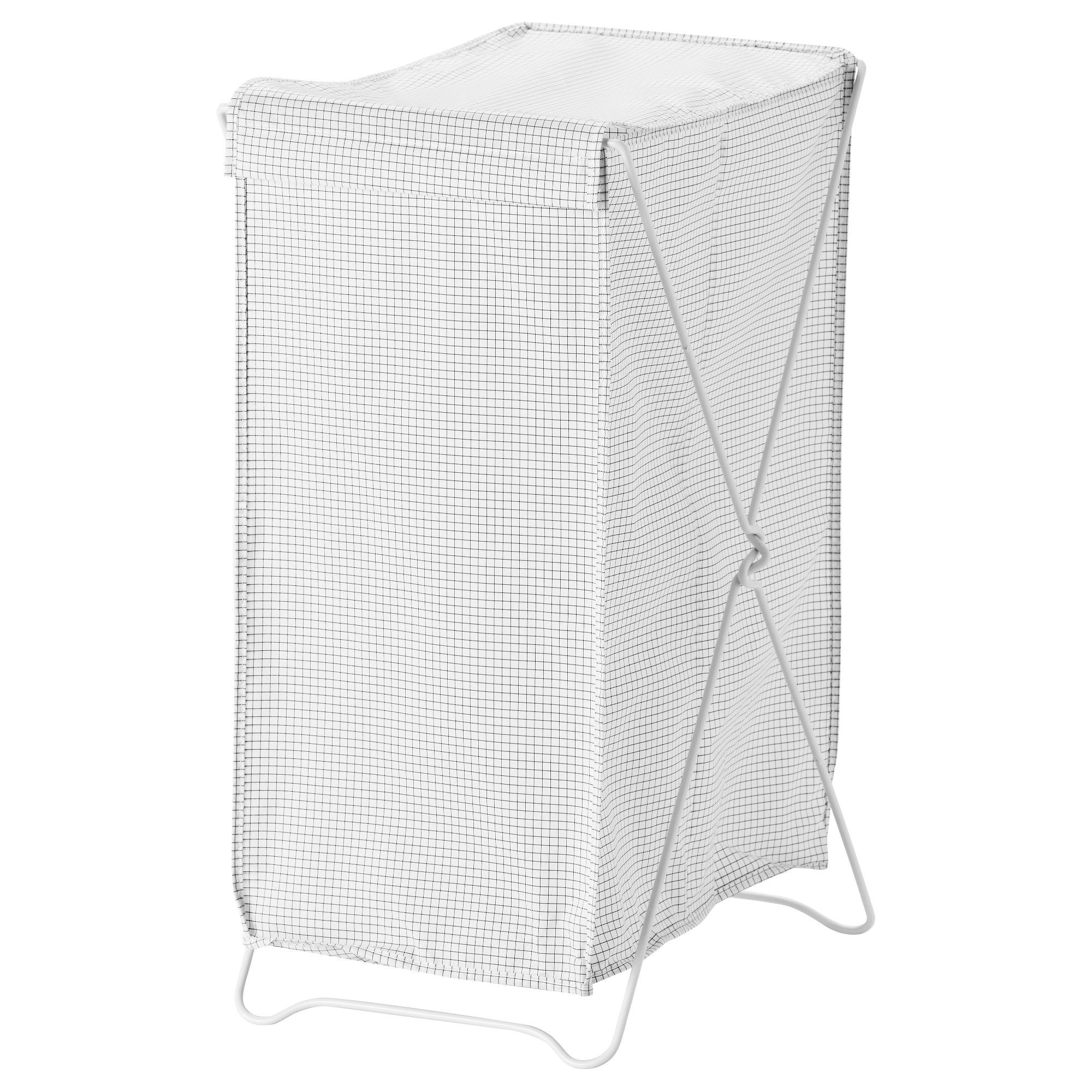 Torkis Laundry Basket White Gray 3043 Oz With Images Ikea