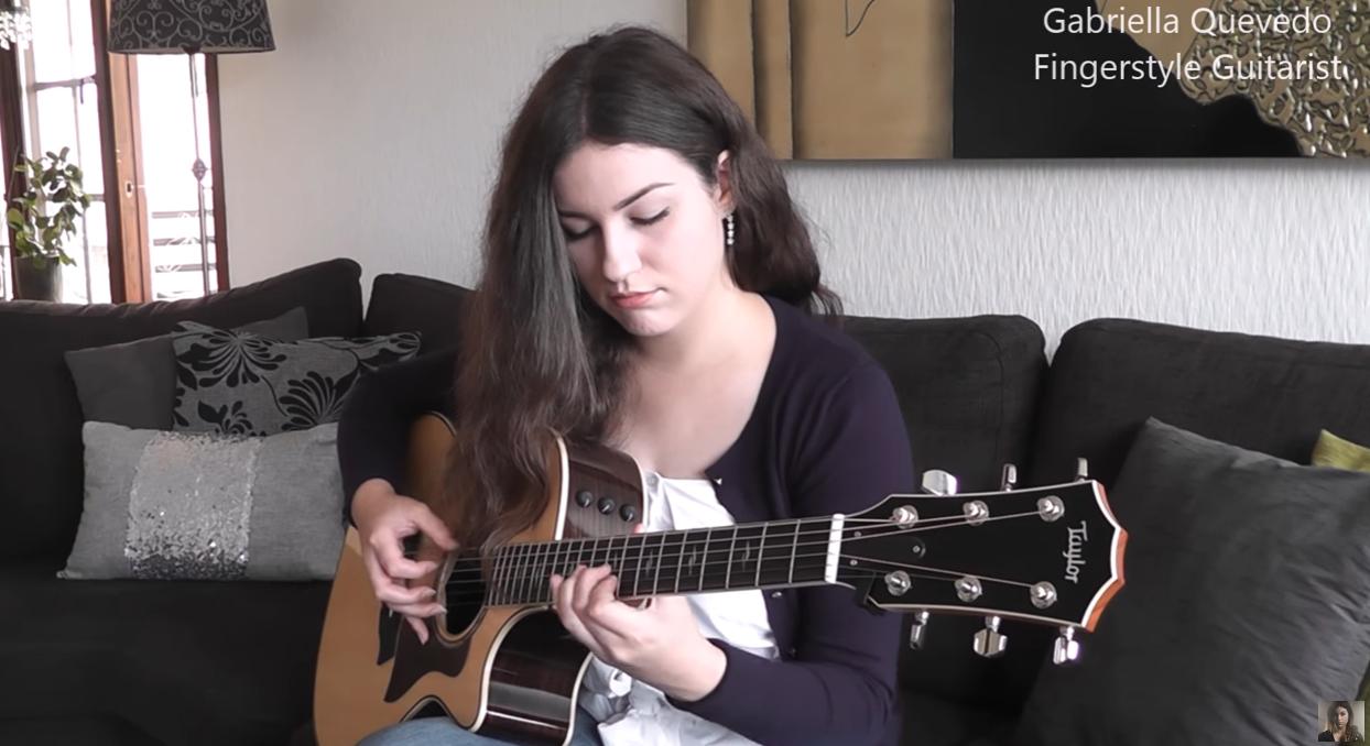 (Eric Clapton) Wonderful Tonight - Gabriella Quevedo ...