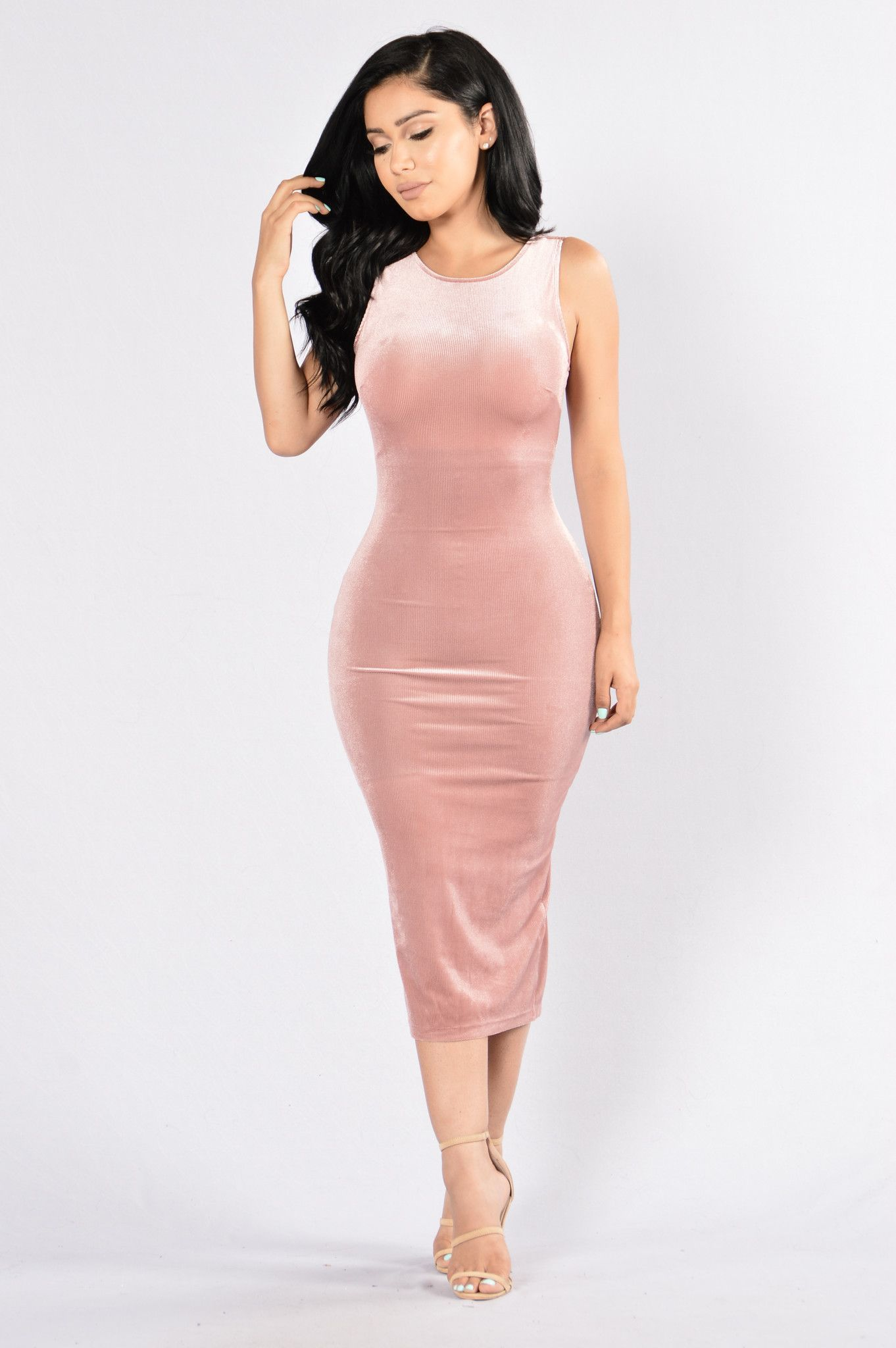 Soft Hearted Dress - Mauve | Vestidos ajustados, Vestidos de mujer y ...
