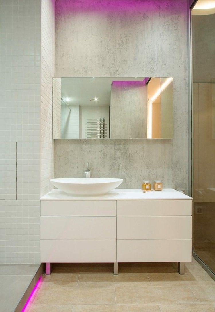 Indirekte Led Leuchten Ideen Fur Jeden Raum Indirekte Beleuchtung Led Minimalistisches Badezimmer Und Badezimmer Design