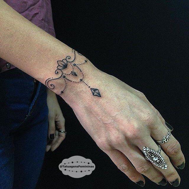 Cuff bracelet tattoo cover up
