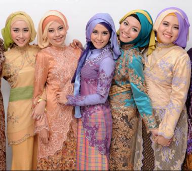 Model Kebaya Muslimah Modern Terbaik di Tahun 2016
