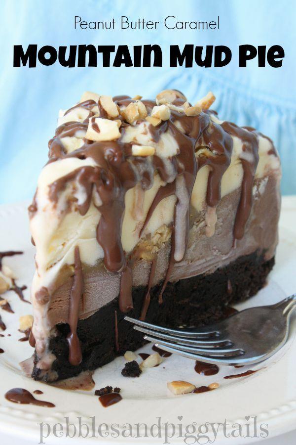 Mountain Mud Pie Dessert | Making Life Blissful