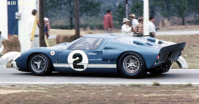 Dan Gurney S Ford Mk Ii At Sebring 1966 Ford Gt Ford Gt40 Ford Racing