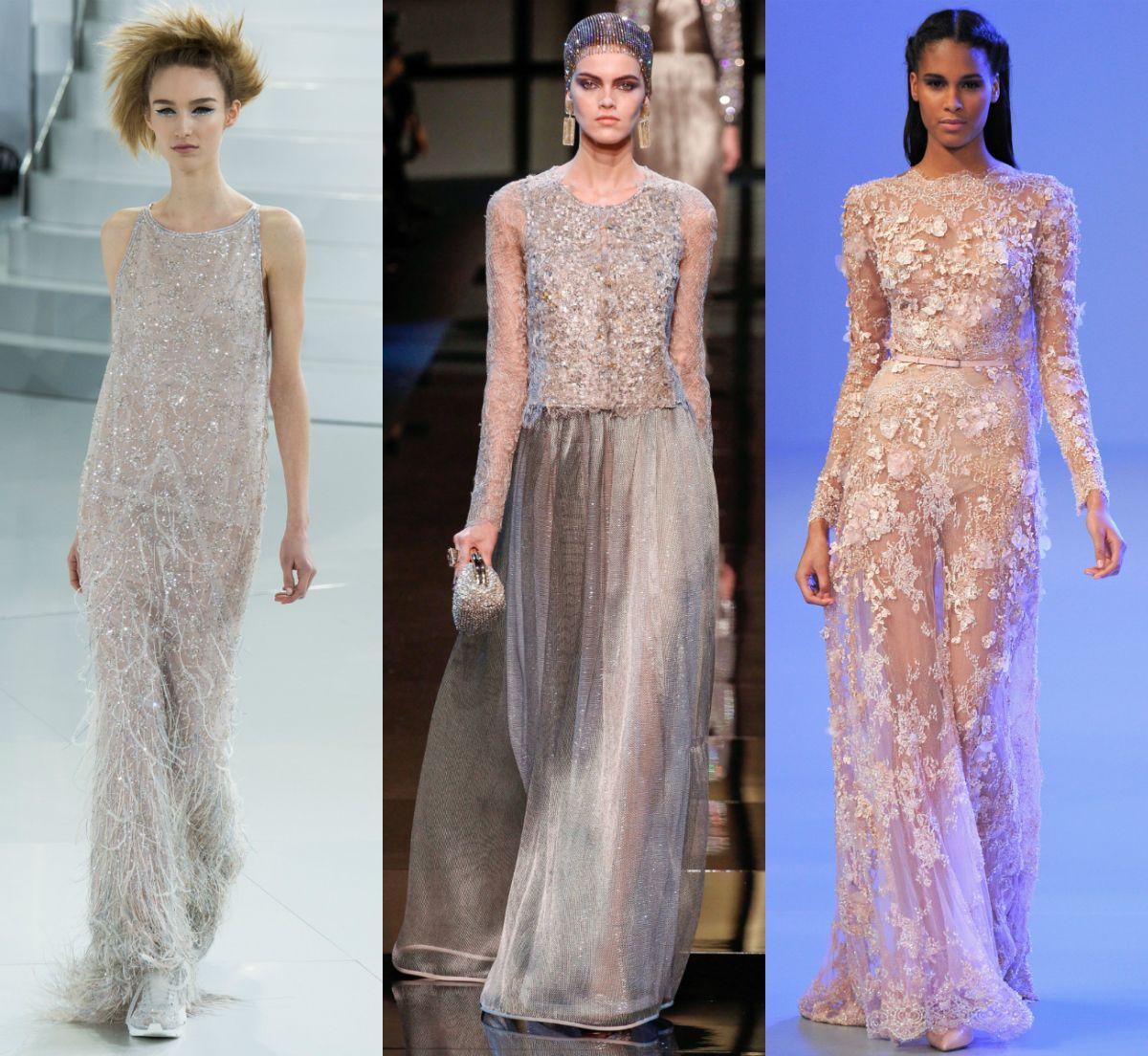 Paris Haute Couture Estate 2014: Chanel | Armani Privé | Elie Saab
