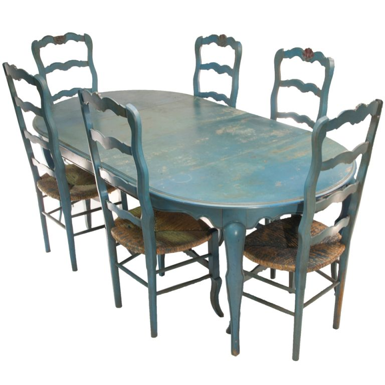 42+ French painted dining table and chairs Best Choice