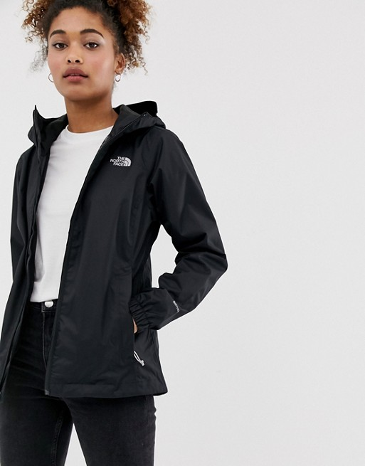 The North Face Quest Jacket In Black Asos In 2020 North Face Outfits North Face Jacket Womens North Face Jacket Outfit