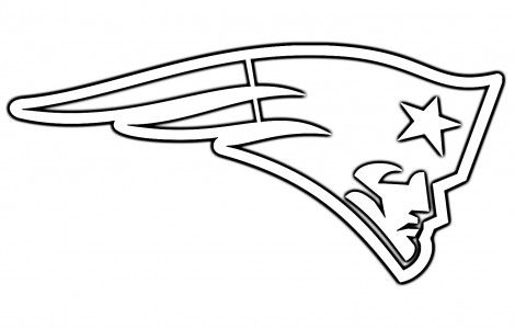 NE Patriots Logo Coloring Pages | Solutions arts & crafts | Pinterest