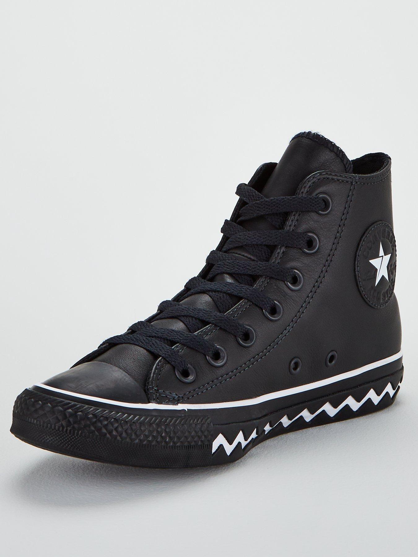 Converse Chuck Taylor All Star Vltg Leather High Top Black