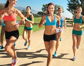 Drop 10, 20, 30 lbs with cardio quickies from SELF's Drop 10 Trainers, the Tone it Up girls.