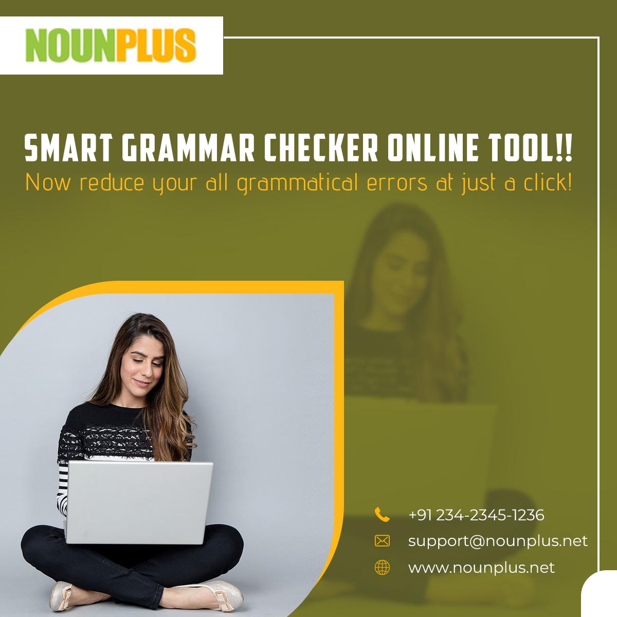 Pin by NOUNPLUS on English grammar checker Grammar check