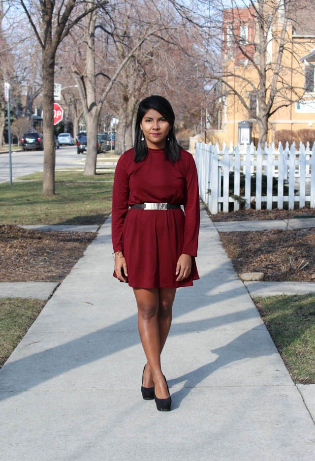 1 dress, 3 valentine's outfits - The color palette a lifestyle, fashion & beauty blog
