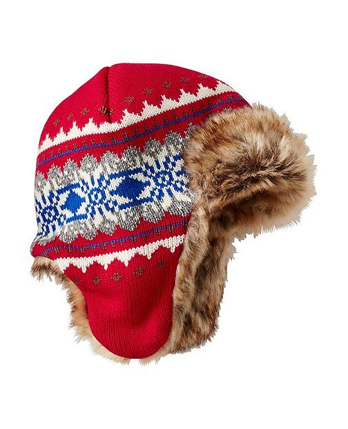 Head out in a cozy-cool and toasty-warm trapper—this super ...