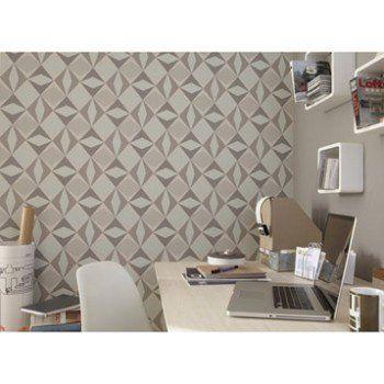 papier peint intiss losange gris leroy merlin id e papier peint pinterest losange. Black Bedroom Furniture Sets. Home Design Ideas