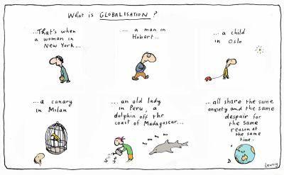 globalisation-leunig | Good for a laugh | Art, Cartoon ...