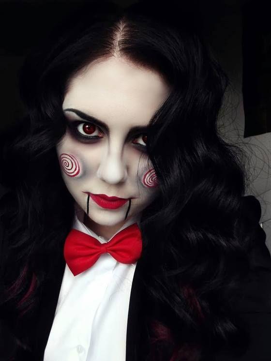 Jigsaw Makeup More Halloween Pinterest Jigsaw makeup, Costumes - easy makeup halloween ideas