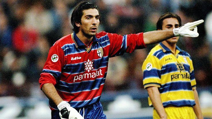 """Parma legend Gianluigi Buffon prepares to return with Juventus"" (Published: 9 April 2015)"