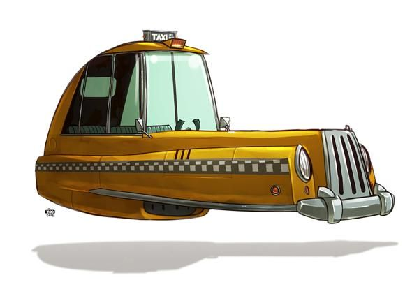 Vehicle Illustrations by Ido Yehimovitz | Cuded