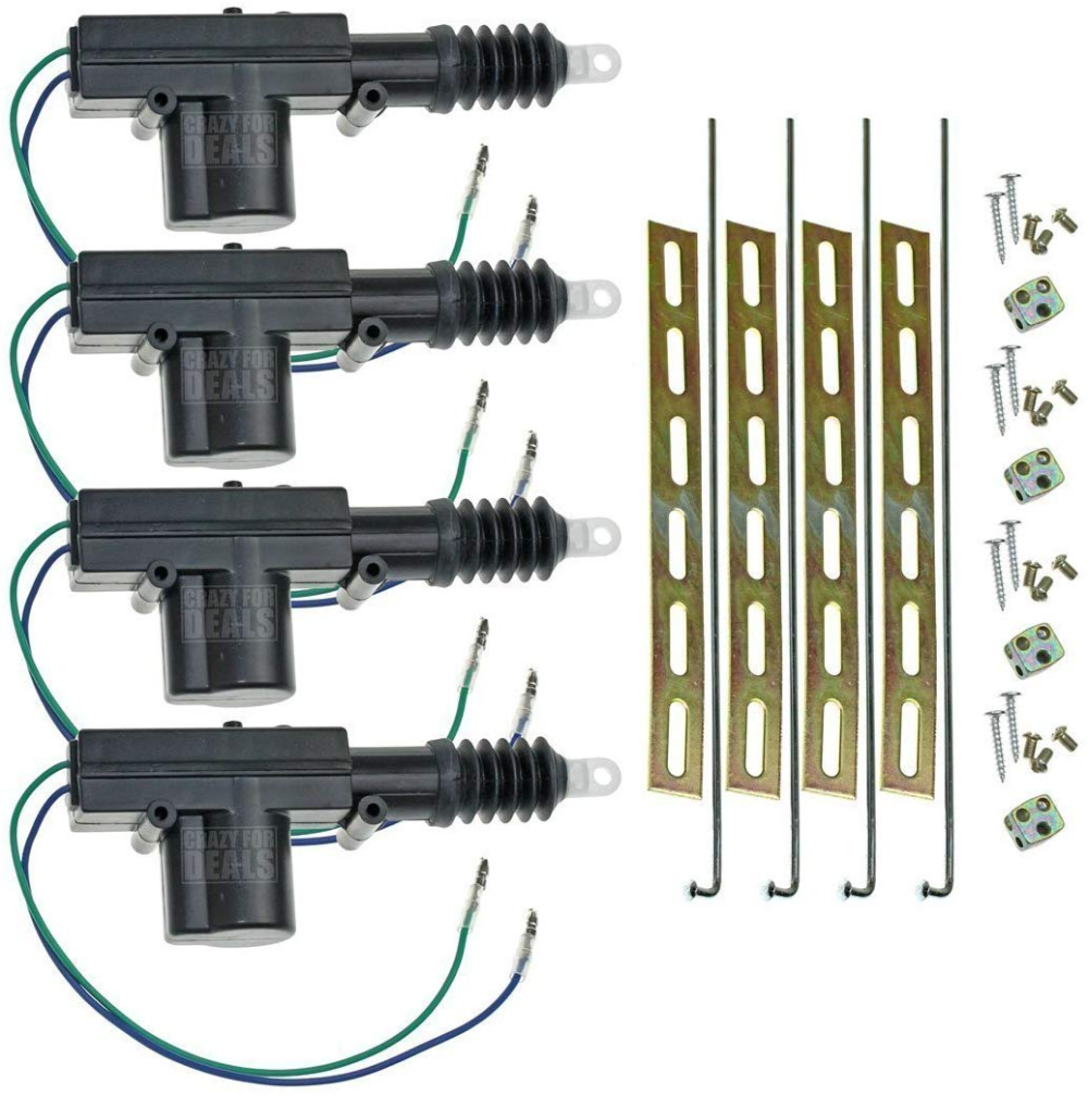 Amazon Com Installgear Universal Car Power Door Lock Actuators 12 Volt Motor 2 Pack Automotive Keyless Entry Systems Keyless Door Lock Door Locks
