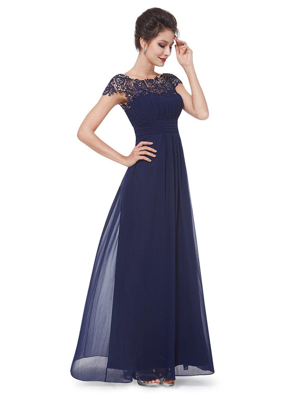 f853d1fddc15 Ever Pretty Womens Cap Sleeve Formal Wedding Guest Dress 16 US Lanvande