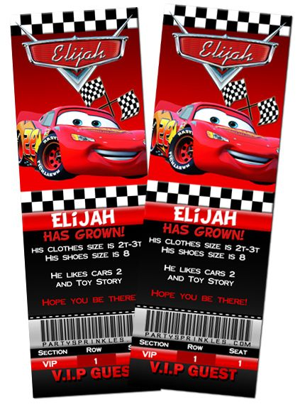 Cars Invitation Card Template Free: Disney Cars Invitations Template WQMPg8x8