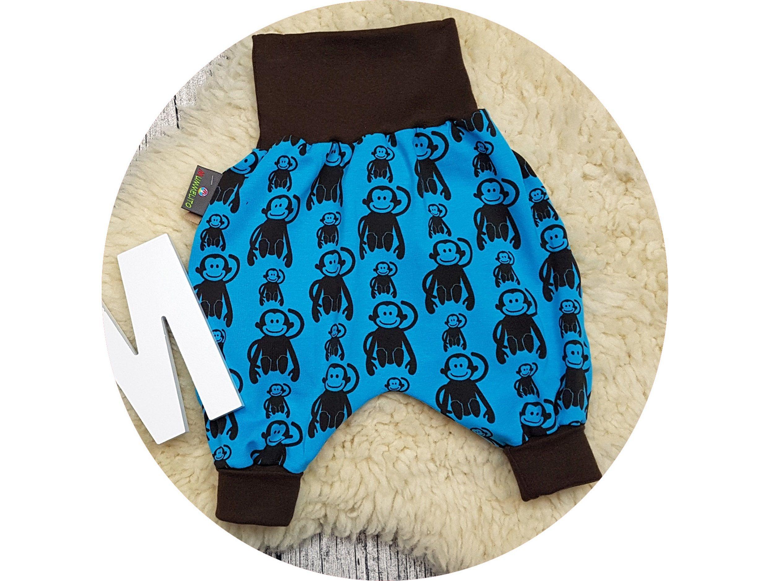 brand new 0a01a 8fad5 Hose, Babyhose, Baby, Affe, Affen, Zoo, Tiere, monkey ...