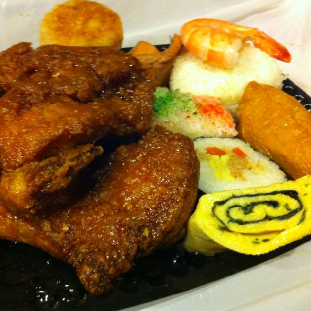 Check the BIG Ono bento from Cousins! Big serving ... Big taste!