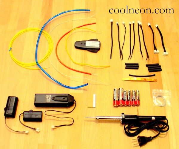 The Ultimate Beginers Guide To Soldering Cool Neon El Wire