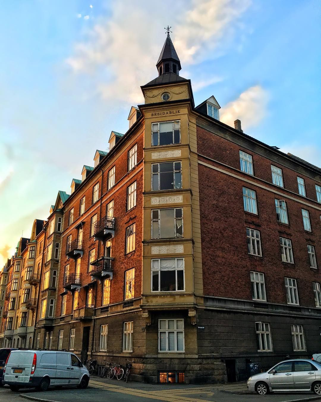 Old Apartment Building: What And Where: Apartment Building In Copenhagen Denmark