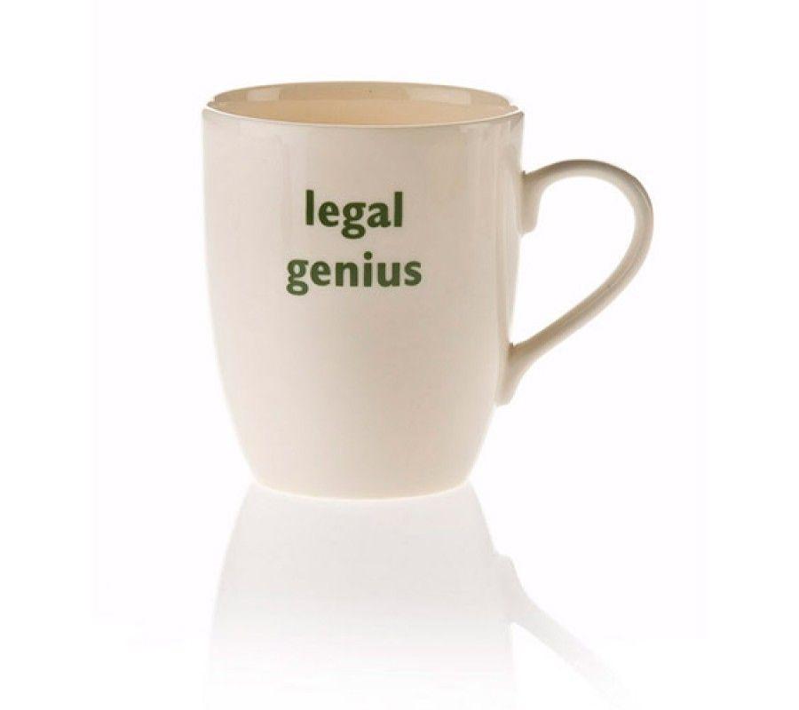 legal genius mug