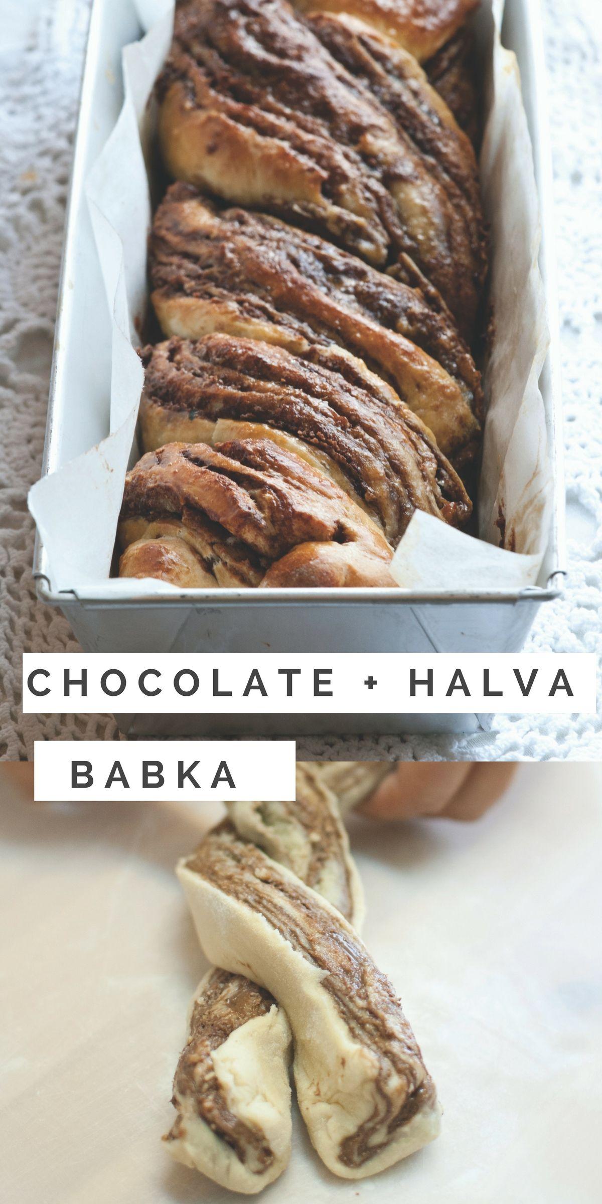 Halva and Chocolate Babka | Receta | Postres, Cocina oriental y ...