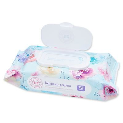 The Honest Company 72 Count Wipes In Floral Honest Company