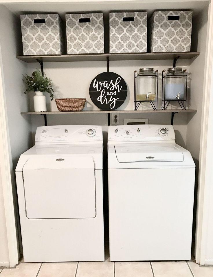 Photo of 27 Ideen für die Dekoration von Waschküchen zur Organisation des Raums alladecor.com / … #alladecorcom #DEC …