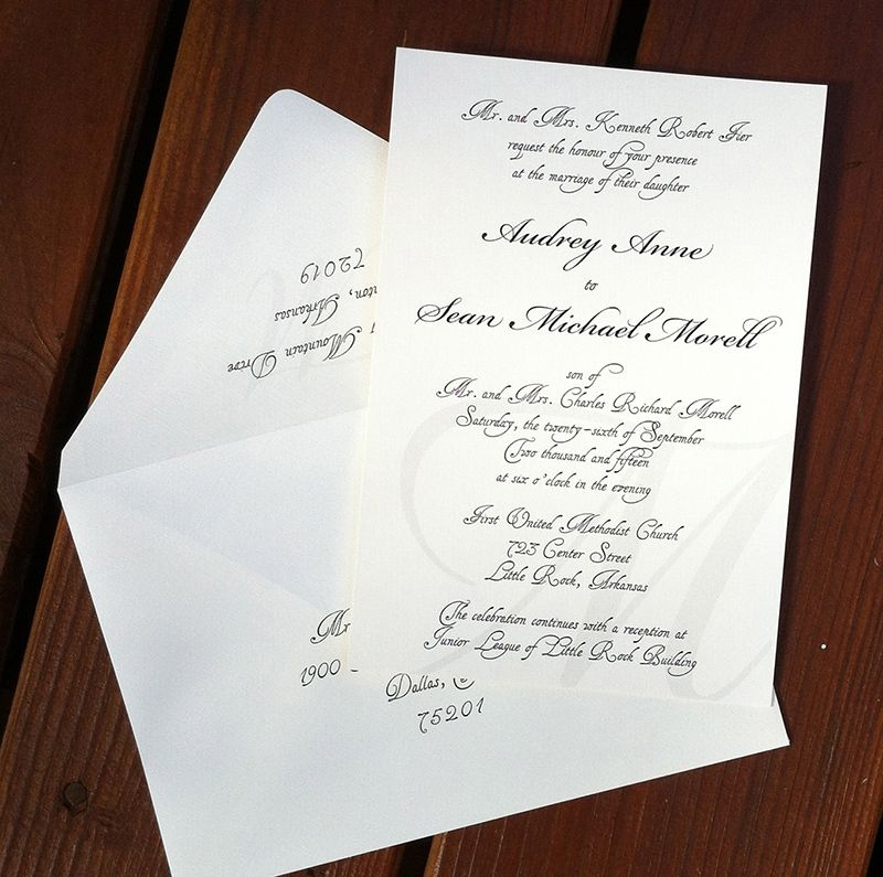 Private ceremony invitation wording