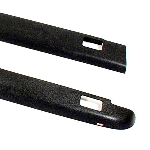 Wade 7241601 Truck Bed Rail Caps Black Smooth Finish With