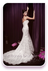we pride ourselves on the structure of our gowns most
