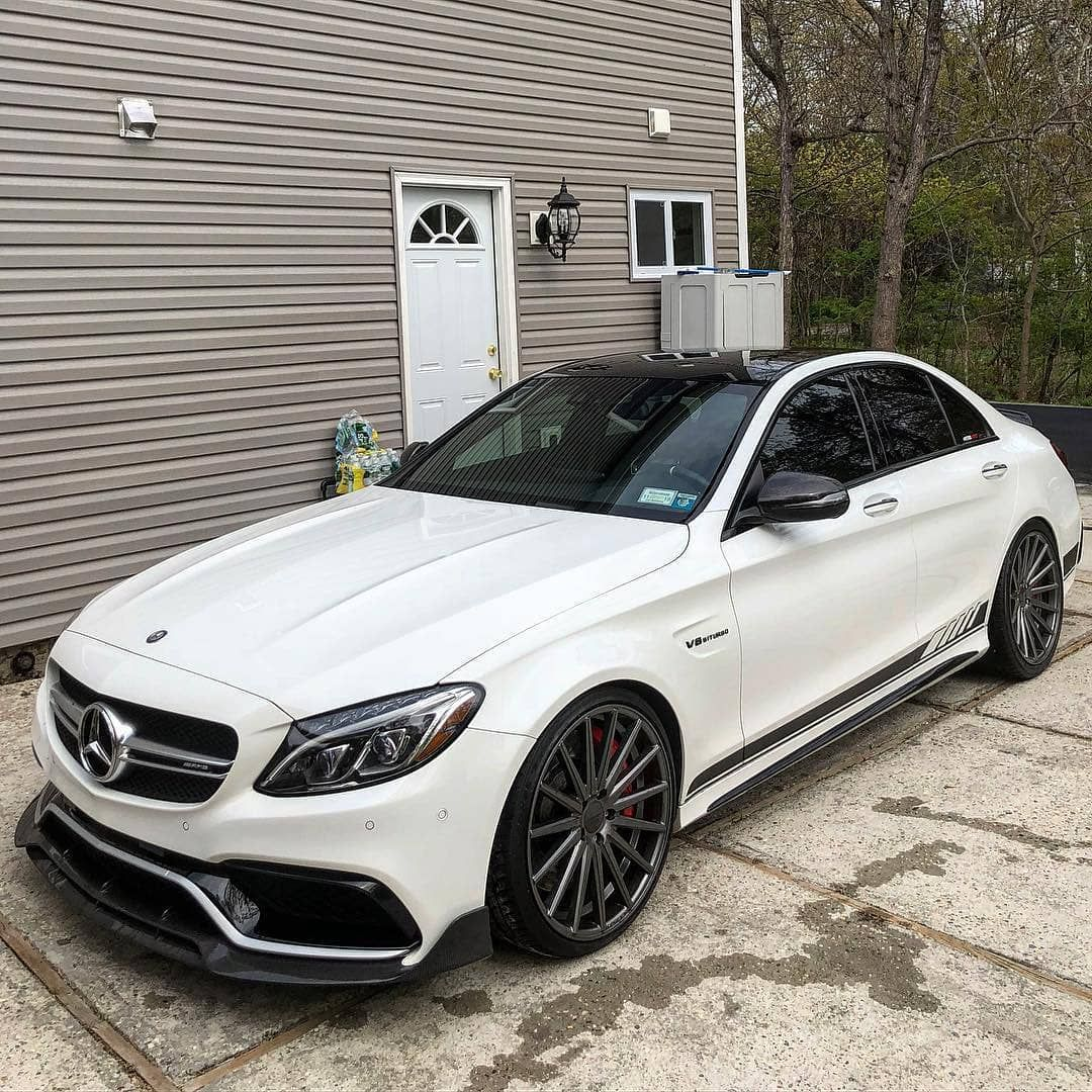 Mercedes Benz Amg S63 Follow Uber Luxury For More Via: 15' Mercedes-AMG W205 C63s Engin