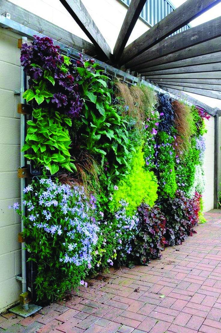 Nice Juliet Balcony Garden Ideas To Refresh Your Home Vertical Garden Design Vertical Garden Diy Vertical Garden
