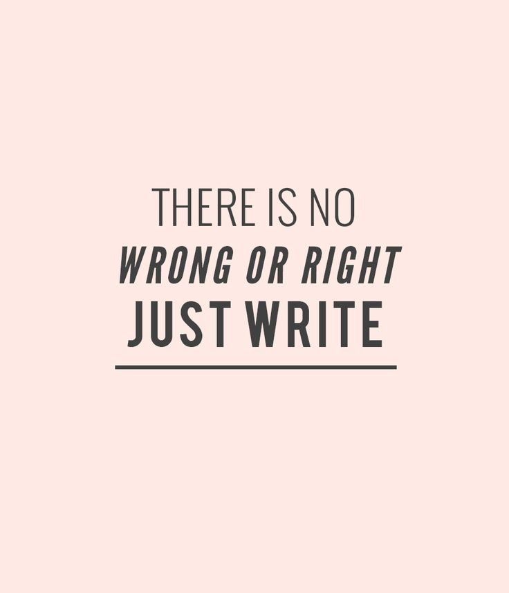Day 391: Just writing