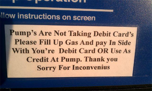 grammar fail-Wrong Spelling-inconvenience | Typos | English