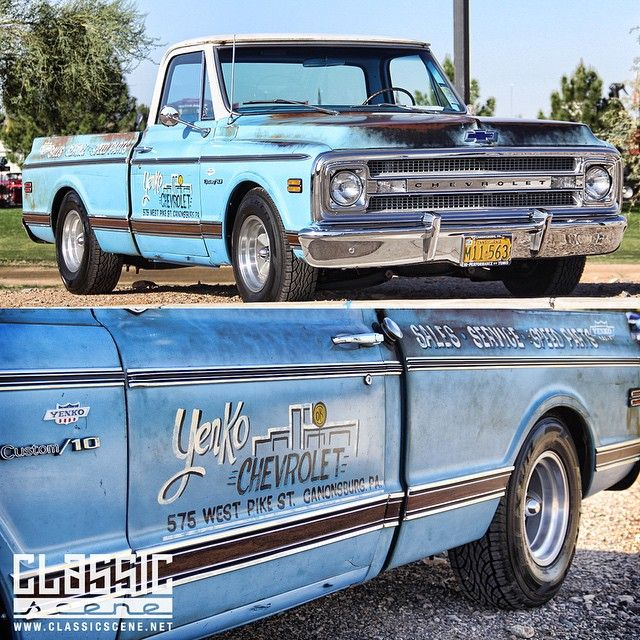 An Awesomely Cool And REAL 1970 #Yenko Chevrolet C10 We